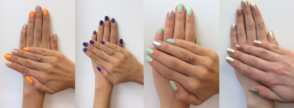 manicure na wielkanoc