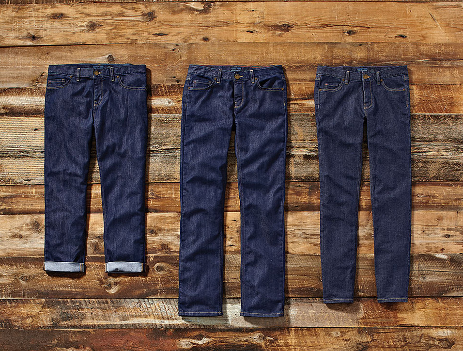 Eco jeansy od Patagonii