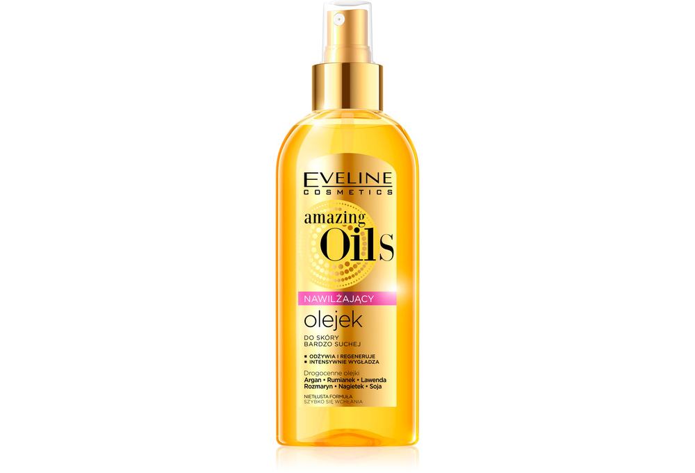 Nawilżający olejek Amazing Oils Eveline Cosmetics