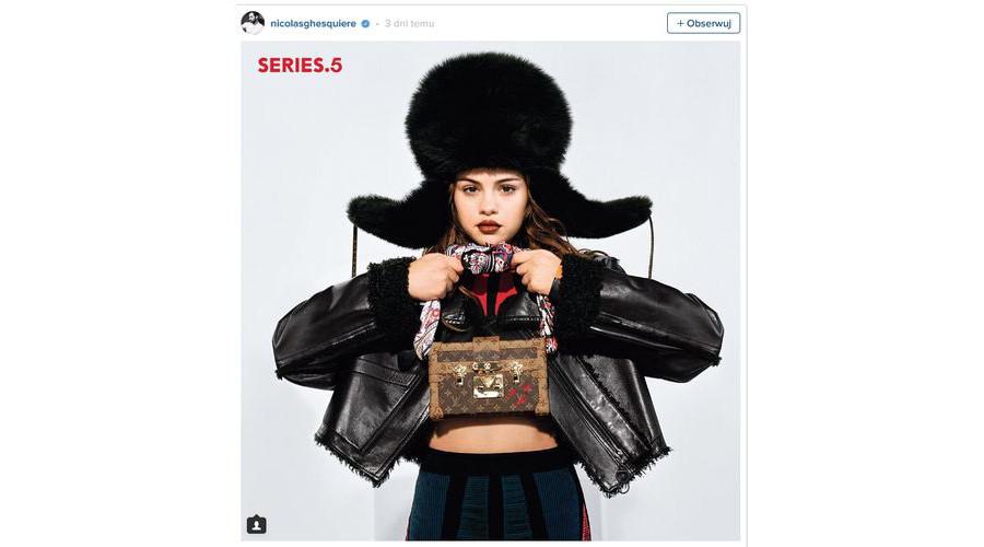 Selena Gomez dla Louis Vuitton
