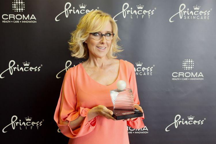 Agata Młynarska z nagrodą Perła Dziennikarstwa