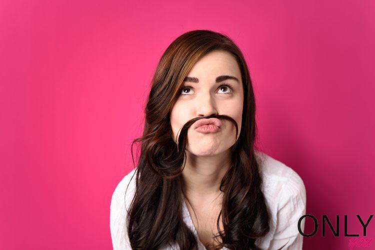 Jak zlikwidować cień wąsika