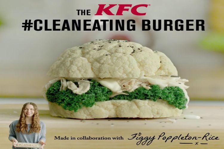 Zdrowy burger z KFC