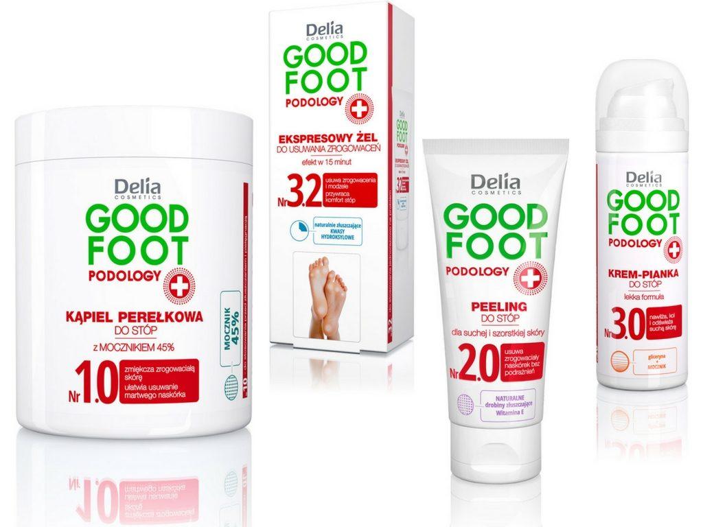 Good Foot Podology do stóp od Delia Cosmetics