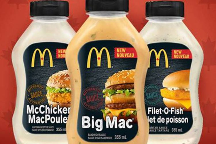 McDonald's sprzedaje swoje sosy