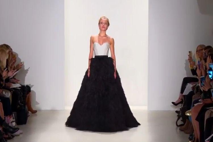 Najmodniejszy kolor sukni ślubnej? Czarny