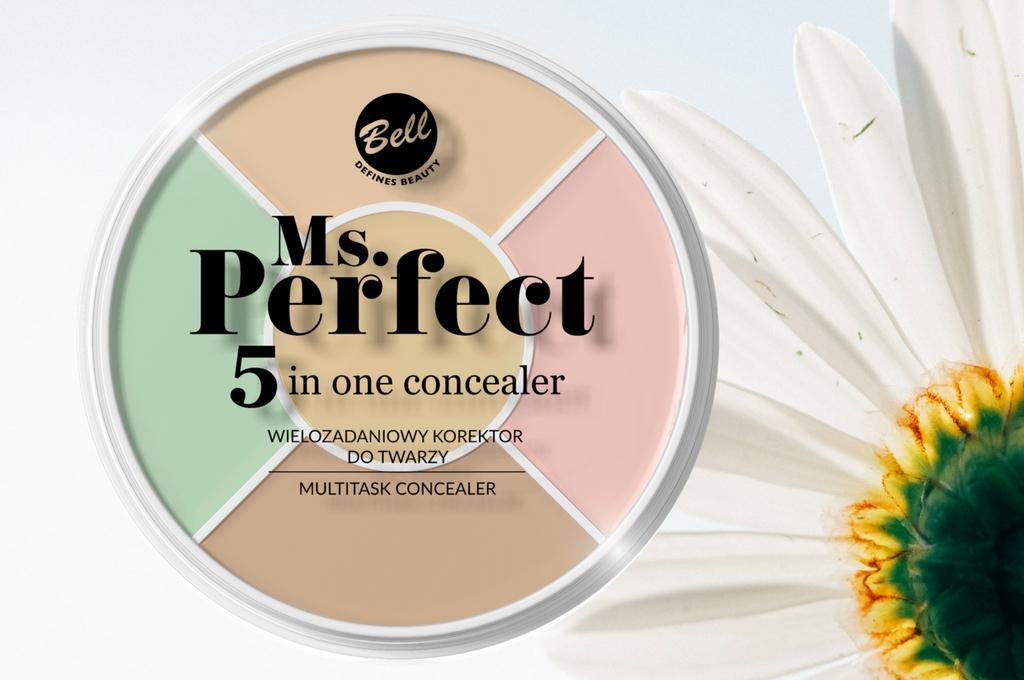 Korektor Ms. Perfect 5 in One Concealer od Bell