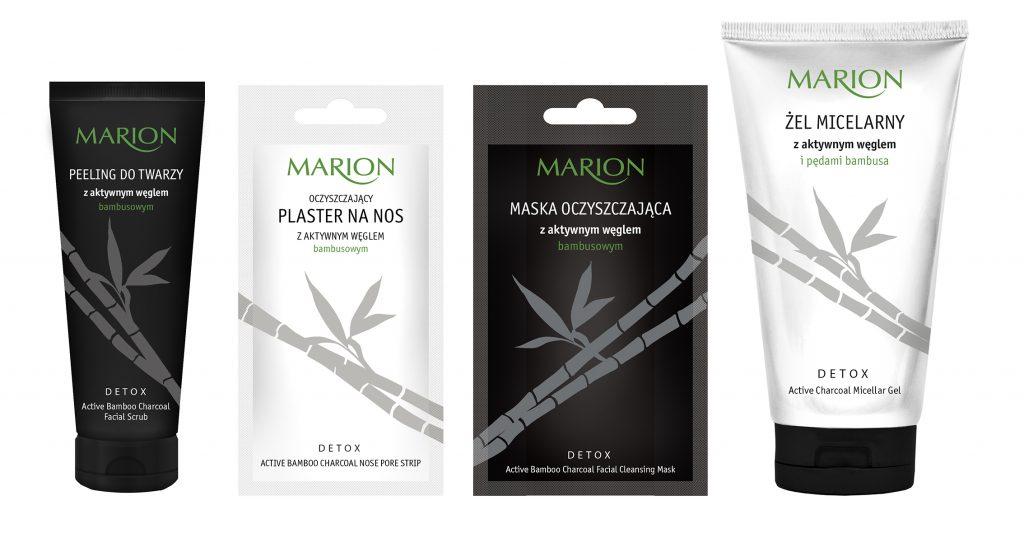 Linia Detox od marki Marion