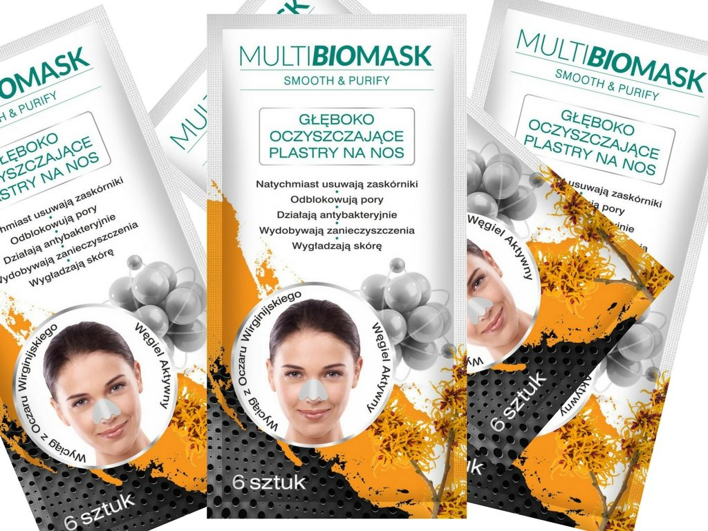 Plastry na nos. Multi Biomask Smooth&Purify
