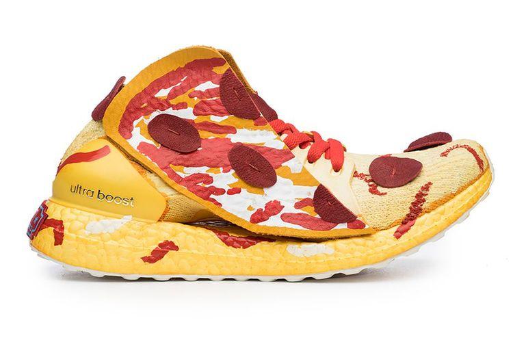 Trampki pizza