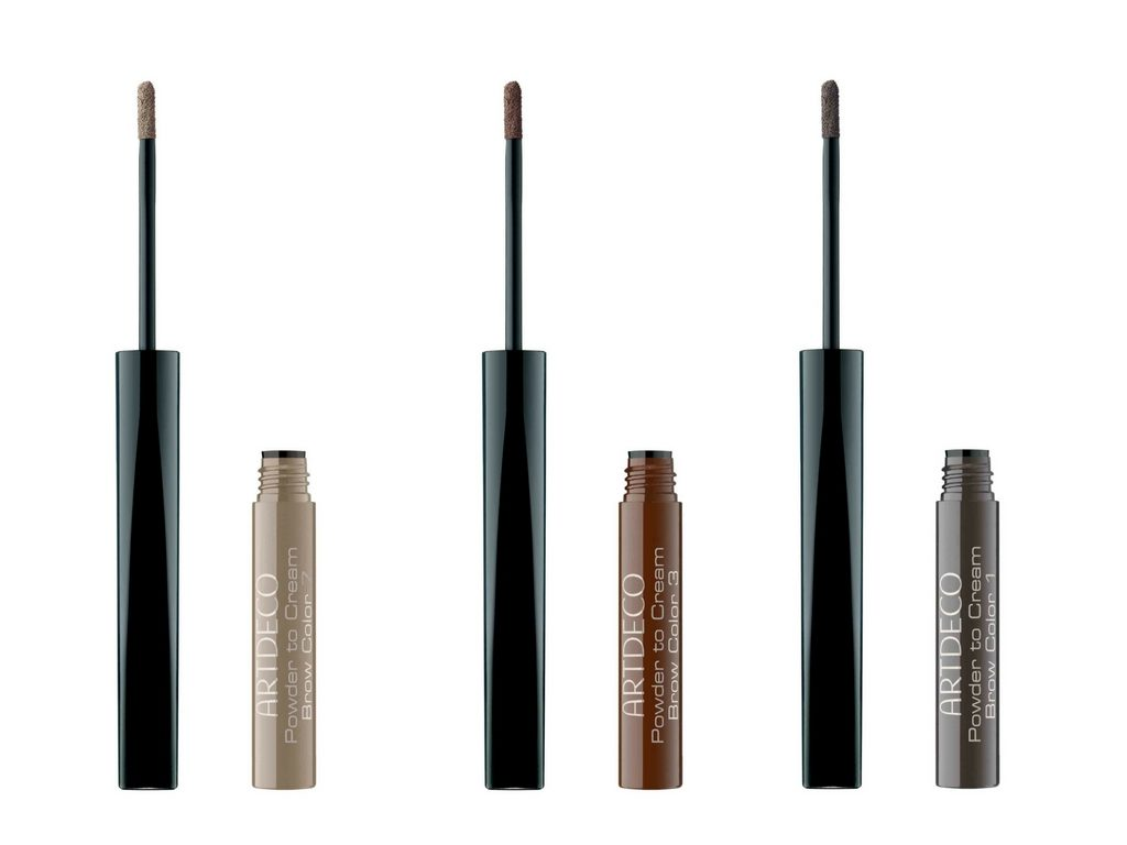 Makijaż brwi – Powder to Cream Brow Color