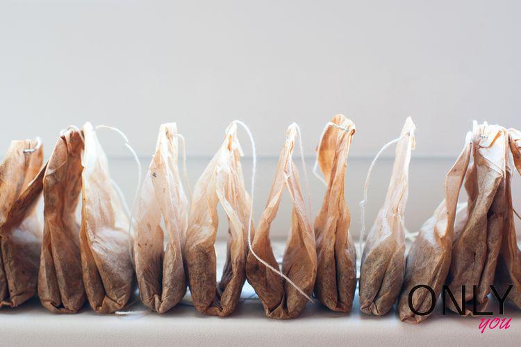 Jak wykorzystać torebki po herbacie