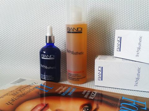 Bandi Tricho-esthetic, czyli szampon i peeling do skóry głowy
