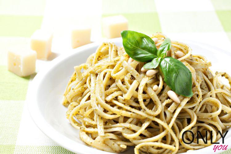 Czosnkowo-cytrynowe spaghetti