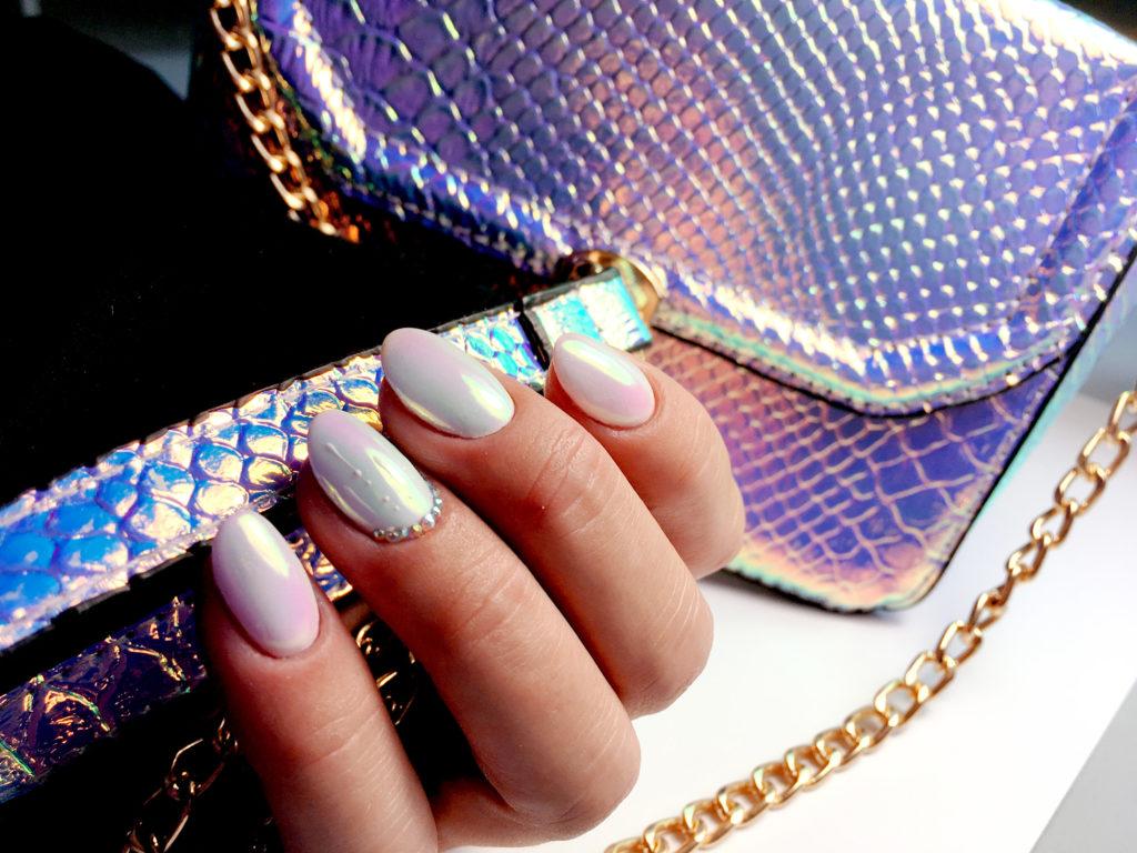Pyłek Crystal Mirror do zdobienia paznokci