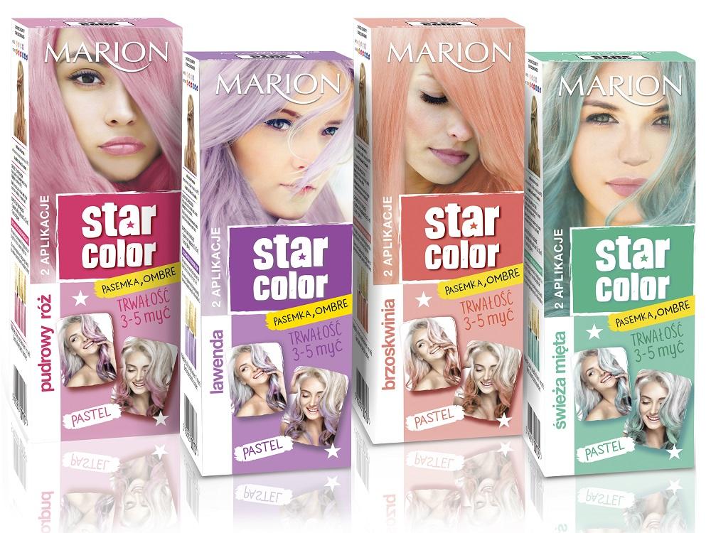 Pastelowe odcienie Marion Star Color