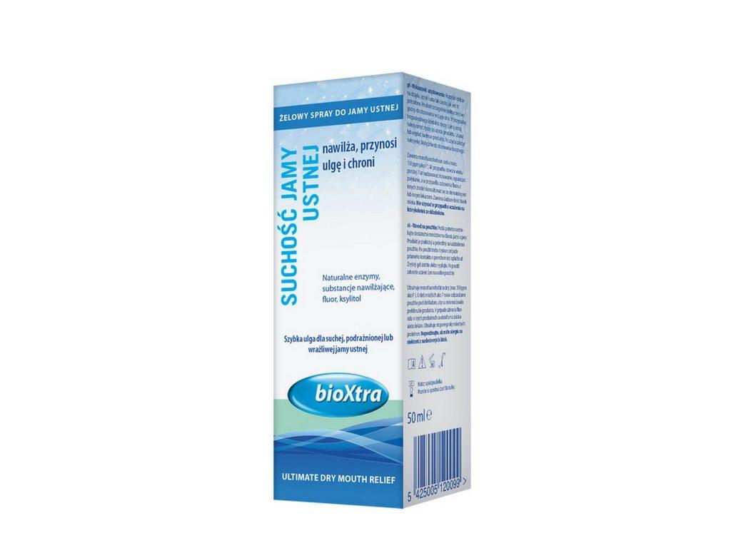 Żel bioXtra w formie sprayu do ust