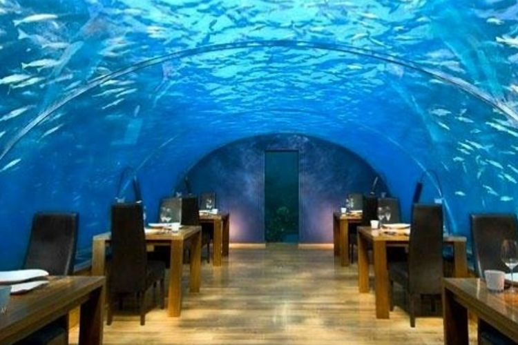Pierwsza podwodna restauracja otwarta!