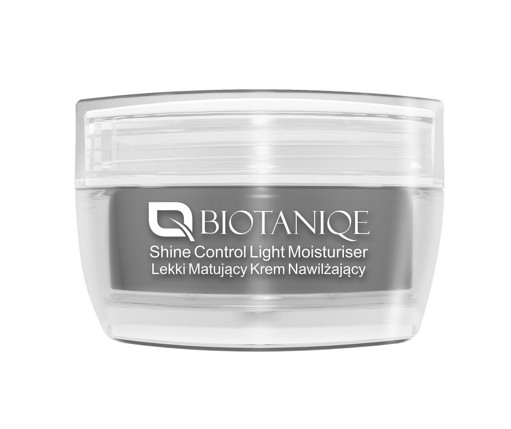 Matujący krem nawilżający skórę Biotaniqe