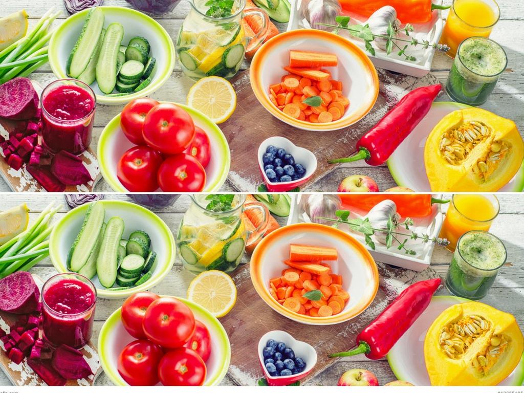 Ile to porcja warzyw lub owoców
