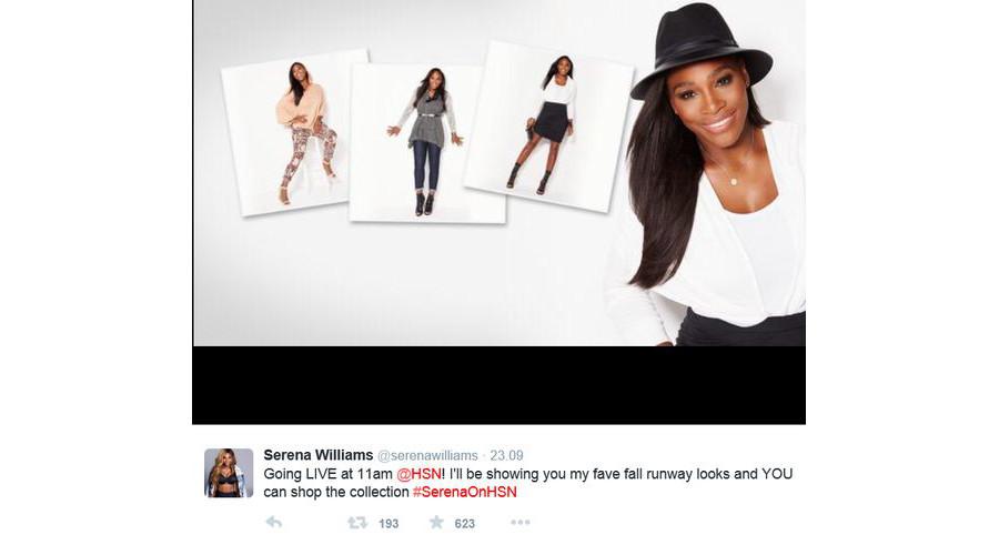 Serena Williams na New York Fashion Week