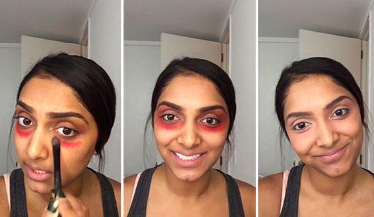 Na cienie i przebarwienia … czerwona szminka