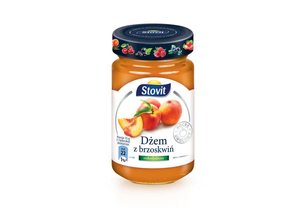 Brzoskwiniowy dżem Stovit