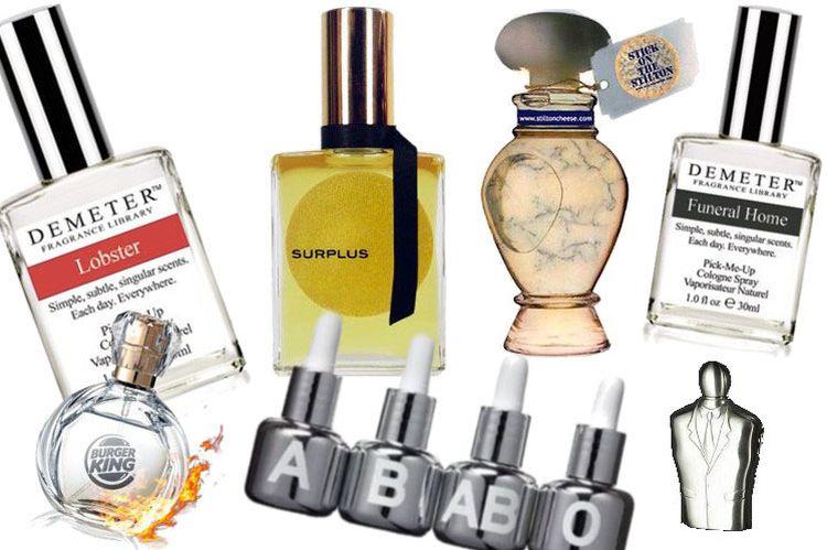 Najdziwniejsze perfumy świata