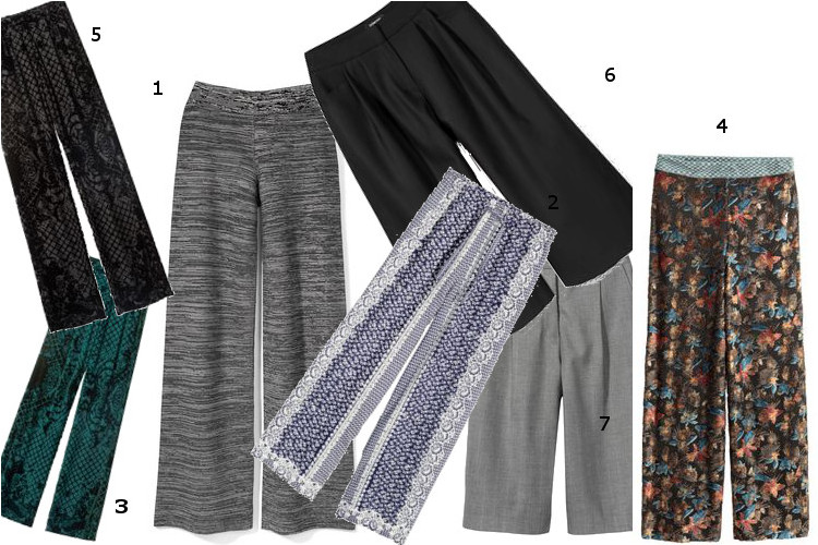 Spodnie z szerokimi nogawkami – jak je nosić przy niskim wzroście?
