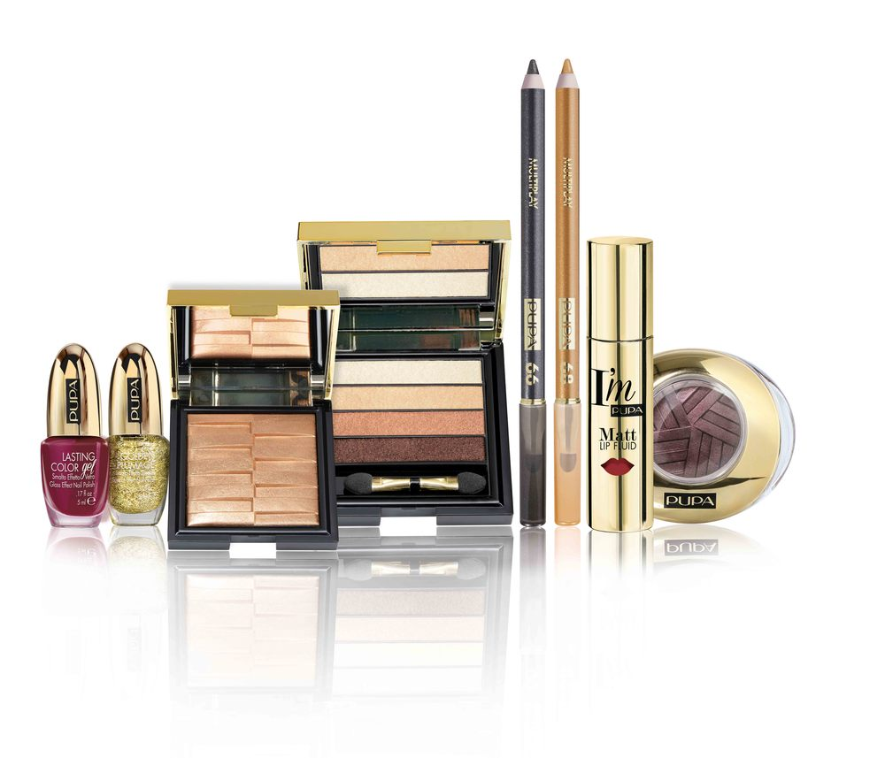 Pupa Stay Gold Christmas Collection