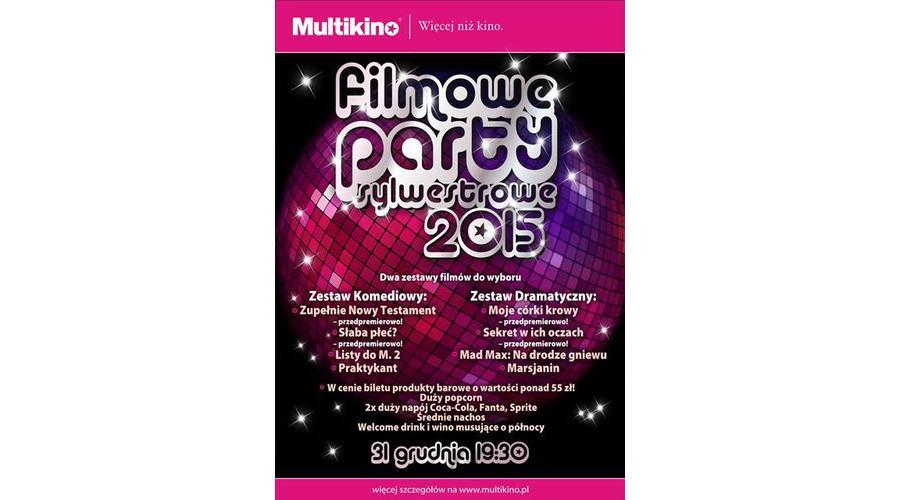 Filmowy Sylwester 2015 w Multikinie – dwa repertuary do wyboru oraz atrakcyjna oferta barowa w cenie biletu!
