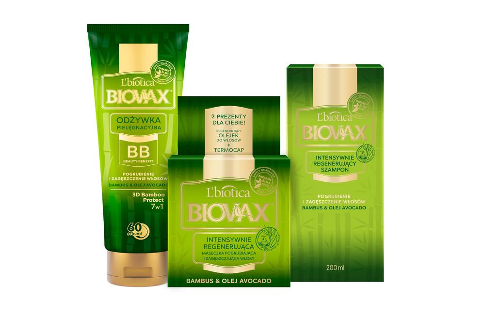 L'biotica Biovax Bambus & Olej Avocado