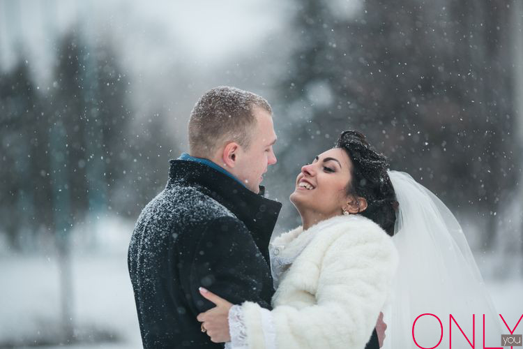 5 zalet ślubu zimą