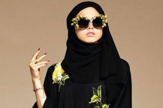 Hidżab i abaja w nowej kolekcji Dolce & Gabbana