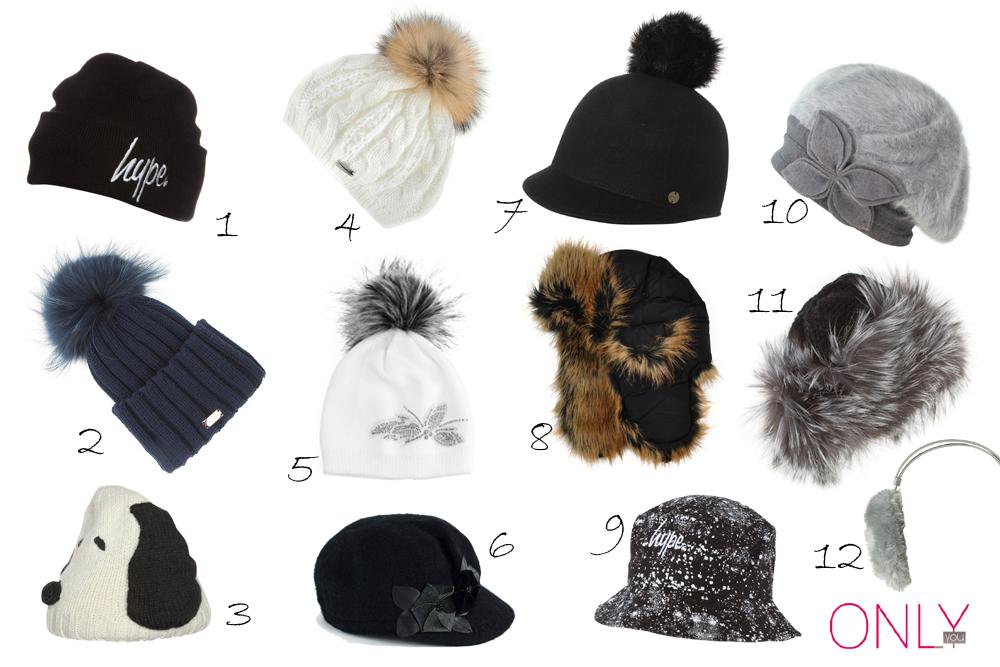Ciepłe i modne czapki