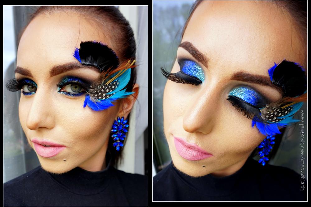 Wizażystka poleca: makijaż z piórkiem