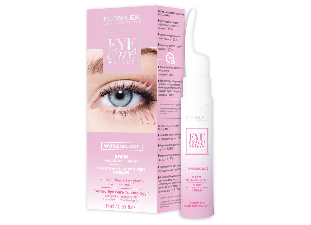 Krem na kurze łapki Floslek Eye Care Expert