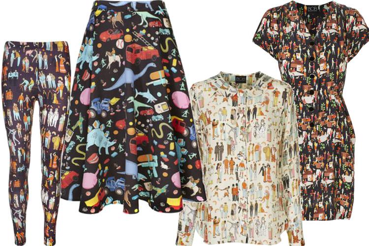 Kolekcja ubrań dla feministek