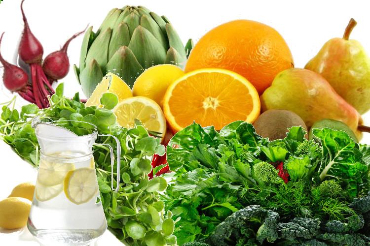 Jedzenie na oczyszczenie organizmu