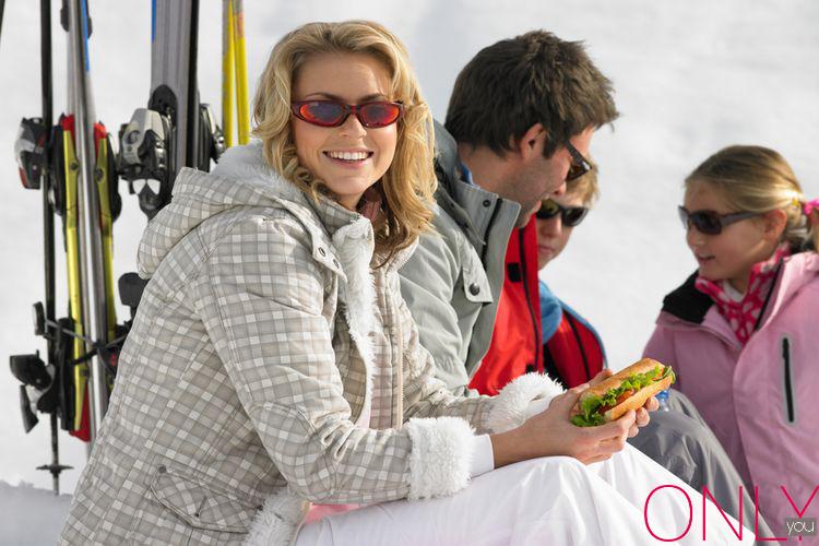 Drugie śniadanie na nartach