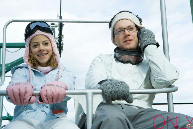 Okulary na nartach