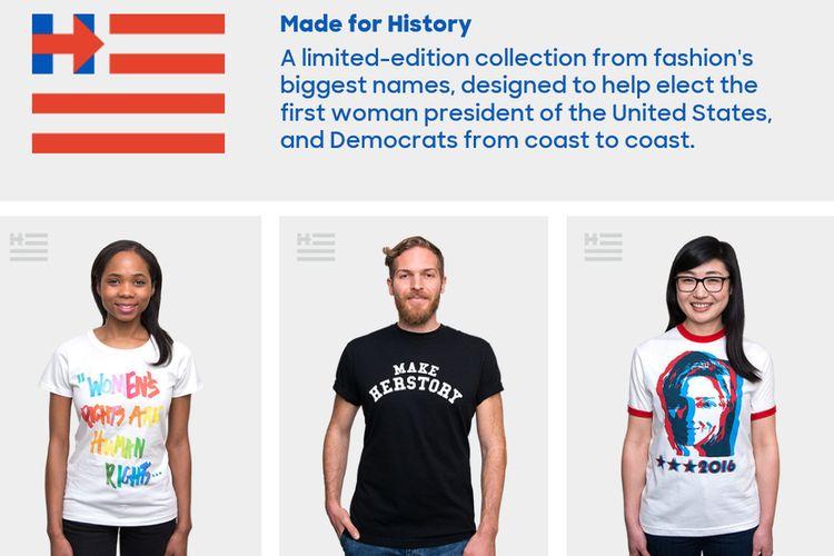 Hillary Clinton zaangażowała się w modę?