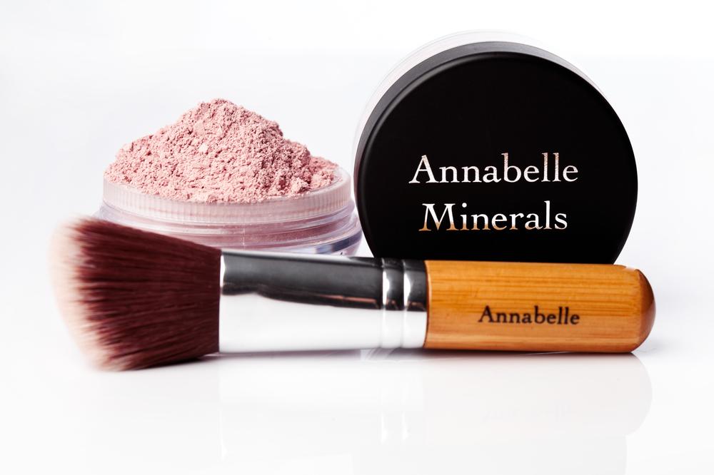 róż mineralny Annabelle