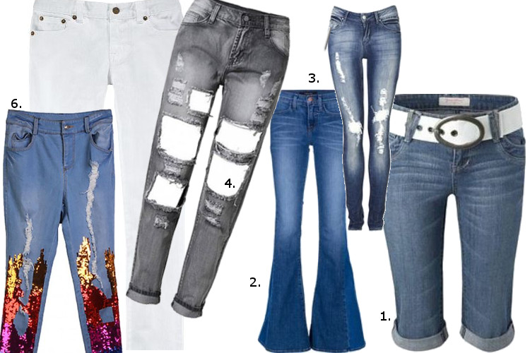 Jeansowe trendy na wiosnę i lato
