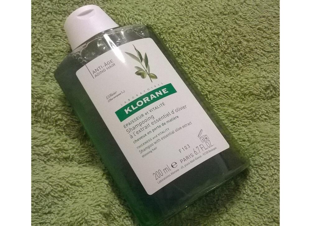Recenzja: szampon z wyciągiem z drzewa oliwnego Klorane