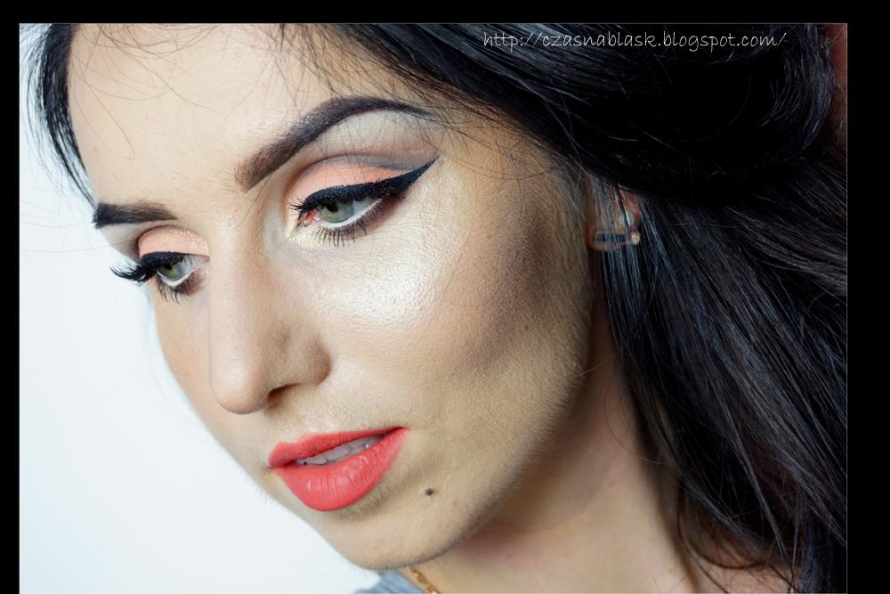 cut crease makijaż