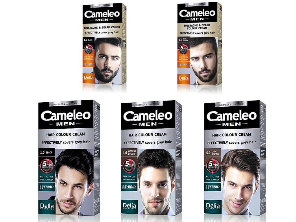 Odsiwiacze do włosów dla mężczyzn Cameleo