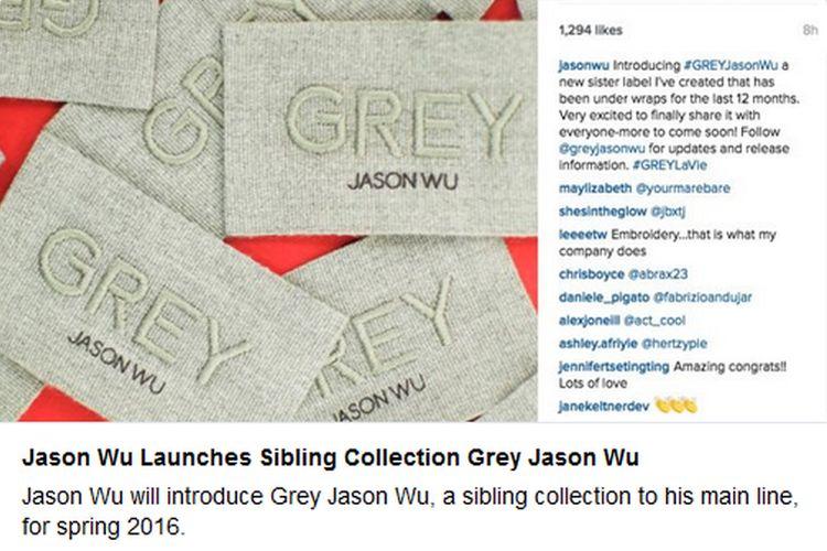 Nowa linia ubrań od Jasona Wu