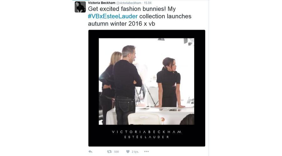Kosmetyki od Estée Lauder i Victorii Beckham