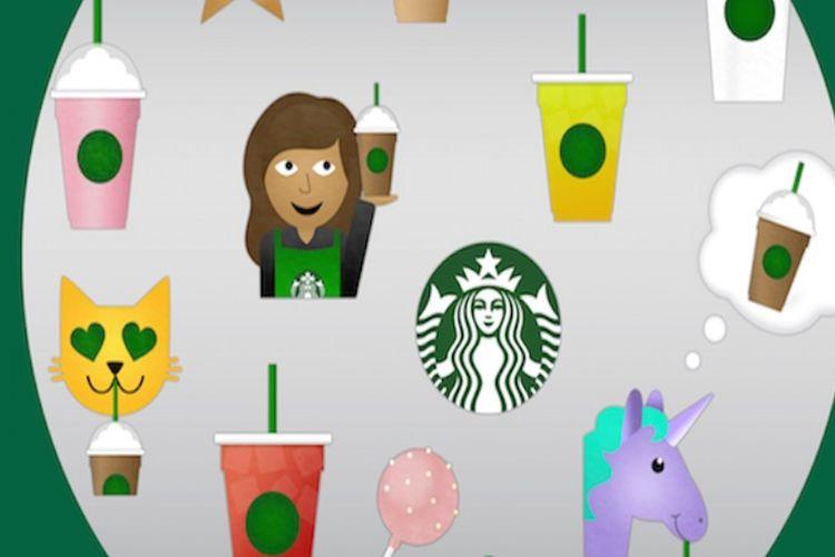 Emotikony od Starbucks